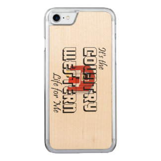 T-STÜCK Land-Western-Leben Carved iPhone 8/7 Hülle