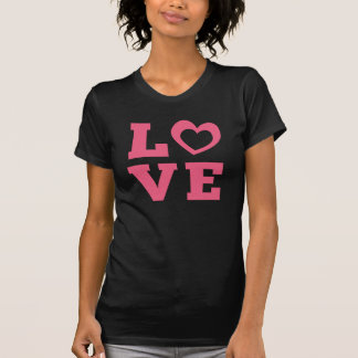 T-Stück LIEBE Valentines Tages T-Shirt