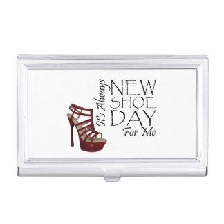 T-STÜCK neuer Schuh-Tag Visitenkarten Dose