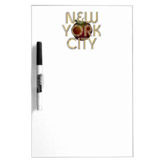 T-STÜCK New York City Trockenlöschtafel