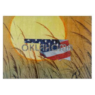 T-STÜCK Oklahoma-Patriot Schneidebrett