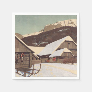T-STÜCK Österreicher-Winter Papierserviette