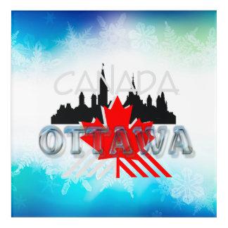 T-STÜCK Ottawa Acryl Wandkunst
