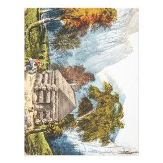 T-STÜCK Paradies-Lager Bedruckte Flyer