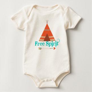 T-Stück Pipi-freier Geist-Bodysuit Baby Strampler