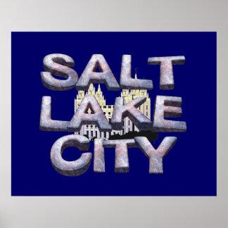 T-STÜCK Salt Lake City Poster