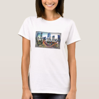 T-Stück Seouls, Südkorea T-Shirt