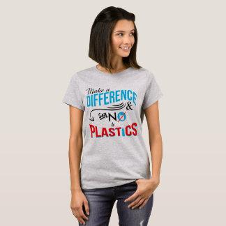 """T-Stück """"unterscheiden Sie"""" der Frauen T-Shirt"""