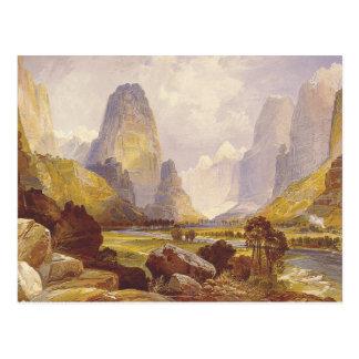 T-STÜCK Utah-Schluchten Postkarte