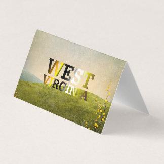 T-STÜCK West Virginia Visitenkarten