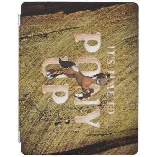 T-STÜCK Zeit zum Pony oben iPad Hülle