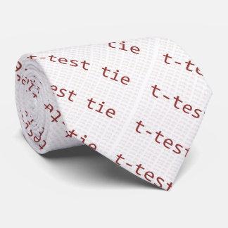 T-Test Krawatte für Statistiker