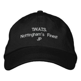 T.W.A.T.S.Nottingham am feinsten Bestickte Baseballkappe