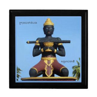 Ta Dumbong Statue, Battambang, Cambodia (private) Erinnerungskiste
