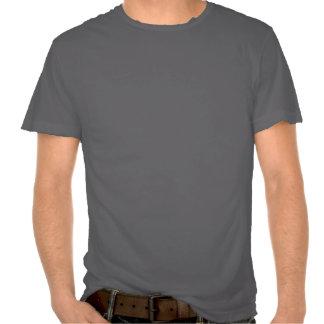 Tabata auf Grau zerstörtem T-Stück Hemden