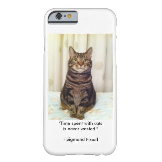Tabby-Katzen-Liebhaber iPhone Fall Barely There iPhone 6 Hülle