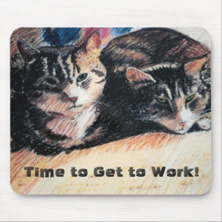 Tabby-Katzen-Zeit, Mousepad zu bearbeiten