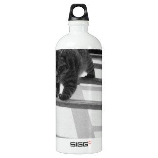Tabbykatze Aluminiumwasserflasche