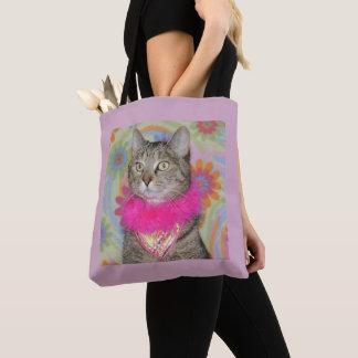 Tabbykatze Frühjahr-Tasche Tasche