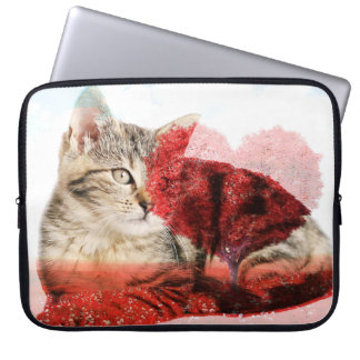 Tabbykatzen-Laptopkasten Laptopschutzhülle