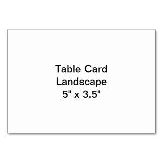 Tabellen-Karten-Landschaft