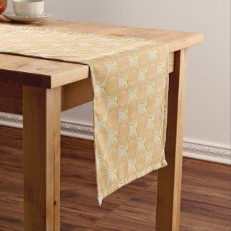 Tabellen-Läufer des Kürbis-Erntedank-| Kurzer Tischläufer