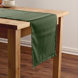 Tabellen-Läufer-uni Grün groß Großer Tischläufer