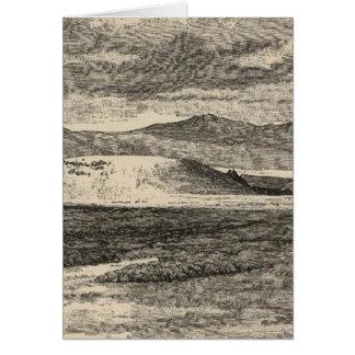 Tabernacle-Krater, Lavabetten Karte