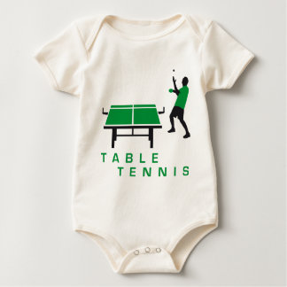 table tennis baby strampler