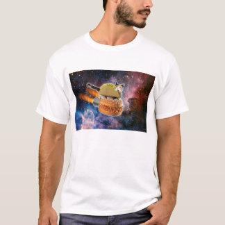 Taco-Burger-Raum-Katzen-Shirt T-Shirt