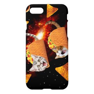 Taco-Katzen-Raum iPhone 8/7 Hülle