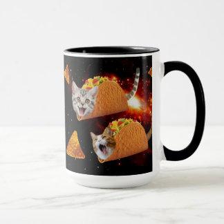 Taco-Katzen-Raum Tasse