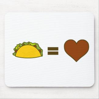 Taco=Love Mousepad