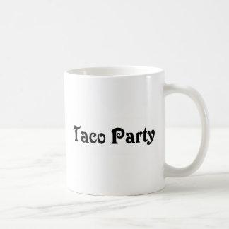 Taco-Party Kaffeetasse