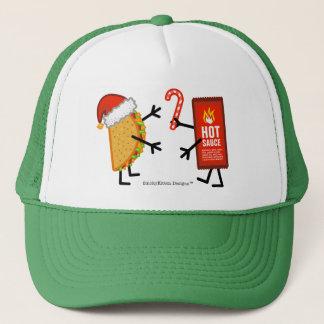 Taco u. scharfe Soße - Weihnachten Truckerkappe