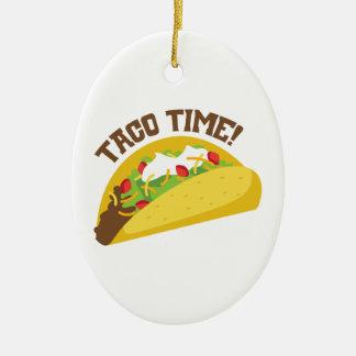 Taco-Zeit Keramik Ornament