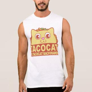 Tacocat rückwärts II Ärmelloses Shirt