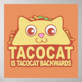 Tacocat rückwärts II Poster
