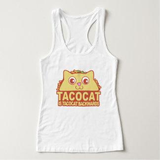 Tacocat rückwärts II Tank Top