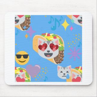 Tacokatze emoji mousepad
