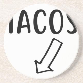 Tacos Getränkeuntersetzer