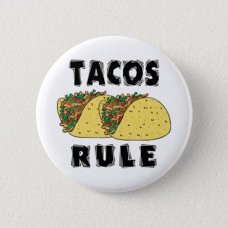 Tacos-Regel Runder Button 5,7 Cm