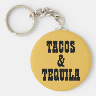 Tacos u. Tequila Schlüsselanhänger