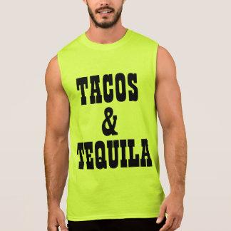 Tacos und Tequila Ärmelloses Shirt