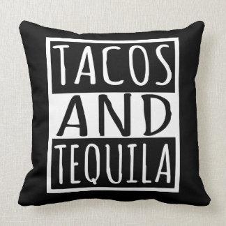 Tacos und Tequila Kissen