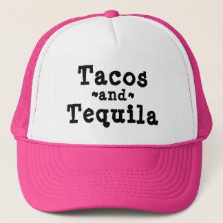 Tacos-und Tequila-lustiger Fernlastfahrer-Hut Truckerkappe