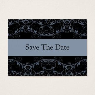 Tadellos Vintage Save the Date Karten/Schiefer Visitenkarte