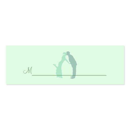Tadellose Braut und Bräutigam Visitenkartenvorlagen