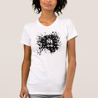 Tadellose Tinte platsch T-Shirt