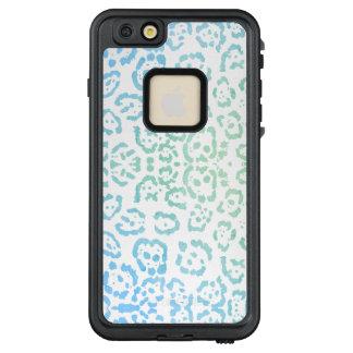 Tadelloser blauer Leopard PastellKawaii LifeProof FRÄ' iPhone 6/6s Plus Hülle
